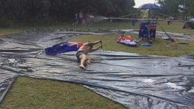 Australians Build Insane Water Slide