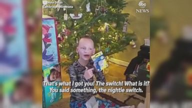 Christmas prank makes kids cry, then laugh
