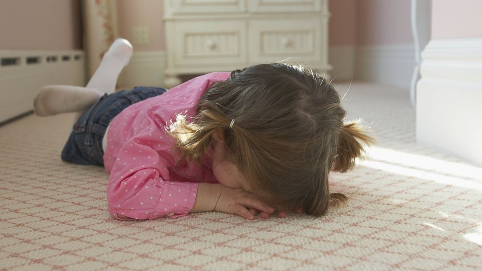 """PHOTO: When it comes to kids, perhaps 3 is the new """"terrible 2."""""""