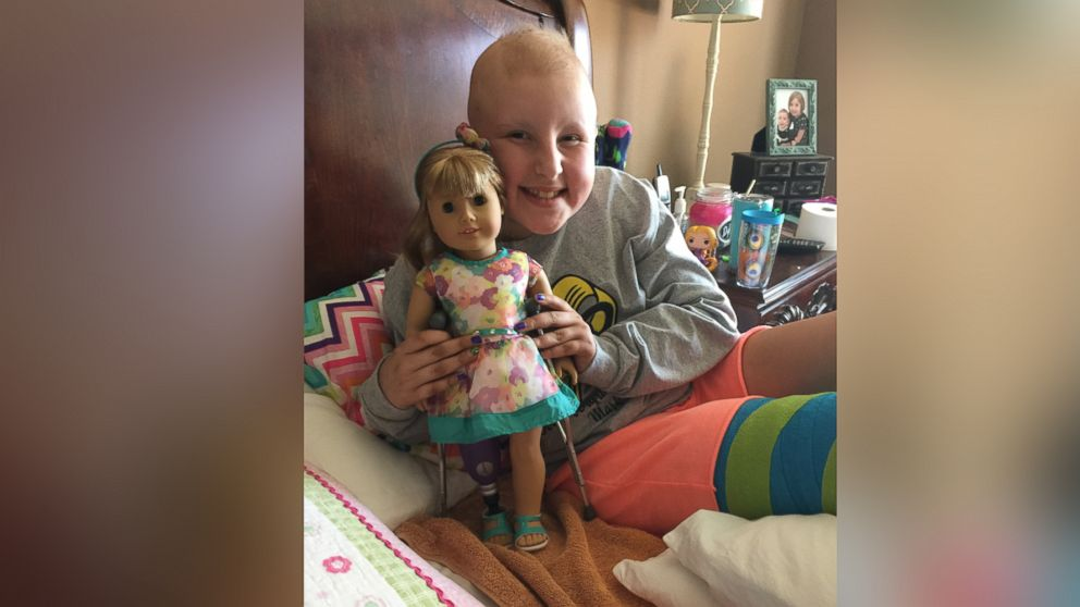 10 Year Old Girl Fighting Cancer Given American Girl Doll