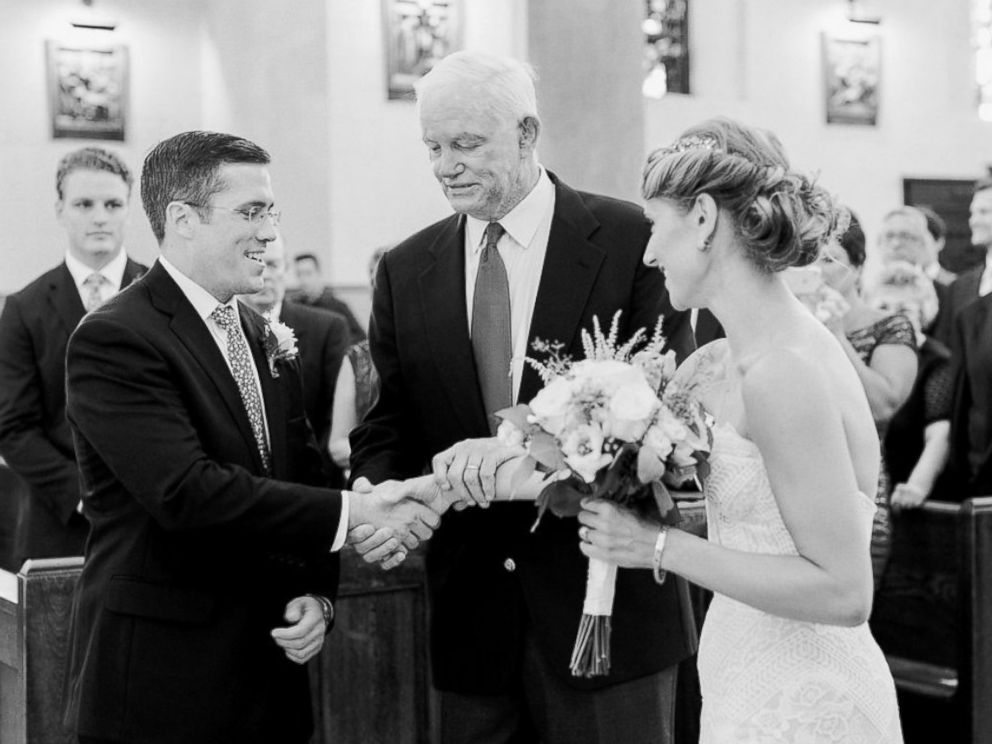 Bride Walked Down The Aisle By Man Who Received Her Father