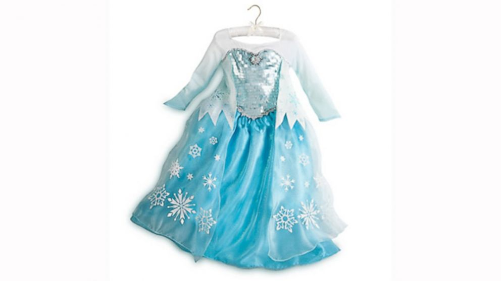 Just Guess How Many Frozen Dresses Have Been Sold Abc News