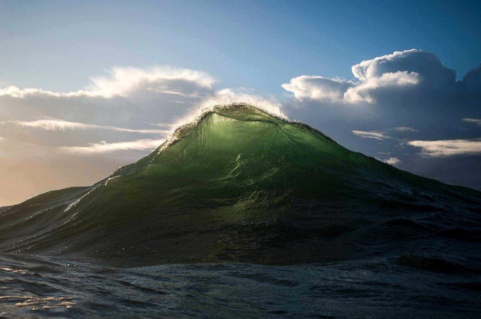 Mountain ocean