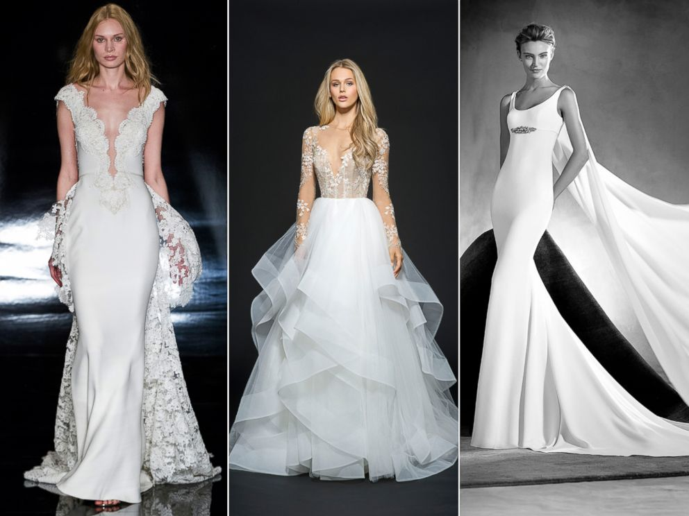 Pronovias Real Wedding Inspiration: Bridal Gowns Find Inspiration In Red Carpet Looks