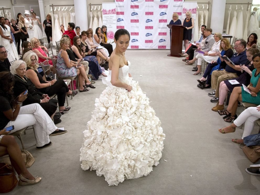 Toilet Paper Wedding Dresses So Stunning You D Be Proud To