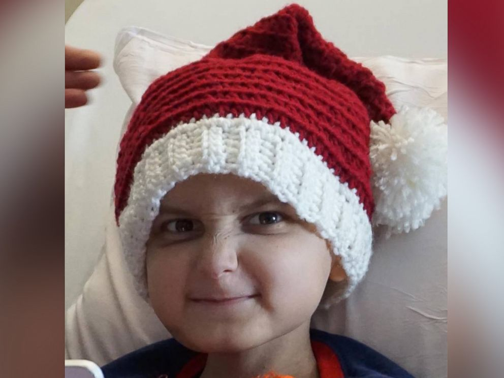 PHOTO: Jacob Thompson, who is is fighting stage 4 neuroblastoma, will be celebrating a two-day Christmas holiday with his family at the hospital this November.