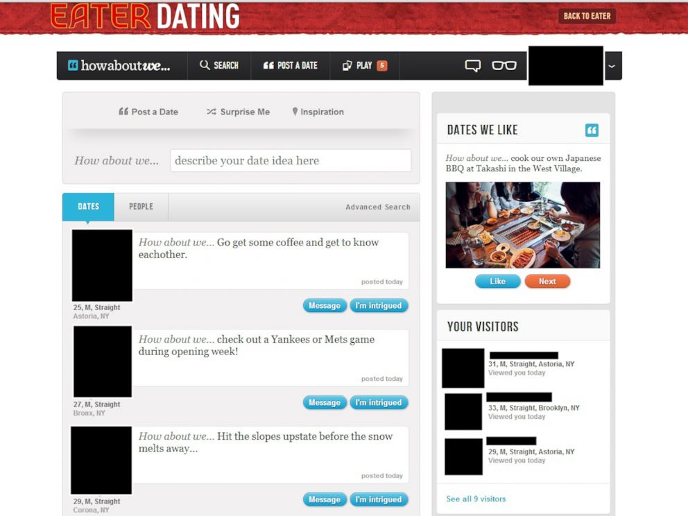 dating site test