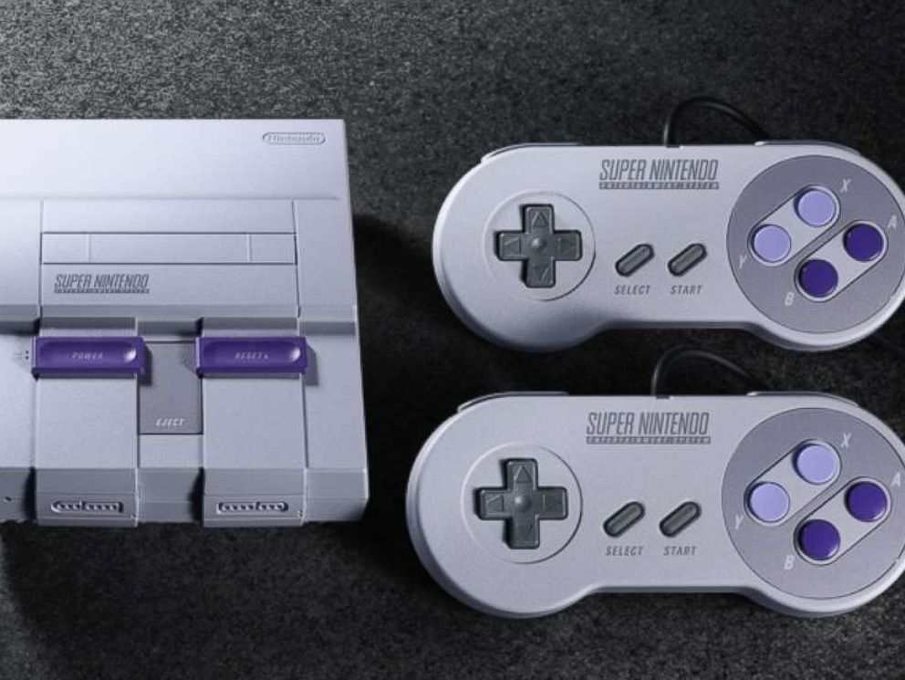 PHOTO: The Super NES Classic Edition system is represented in this undated photo.
