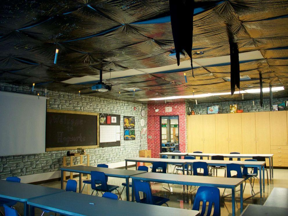 Teacher Creates Magical Harry Potter Themed Classroom To