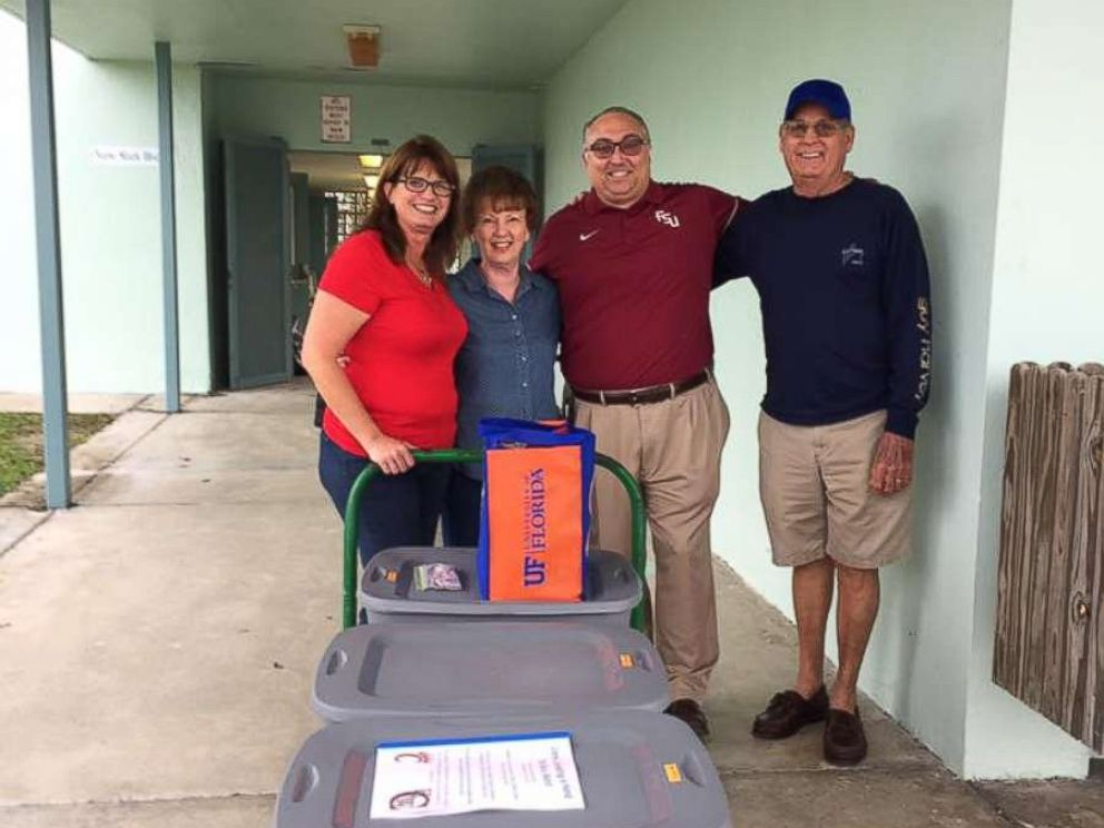 PHOTO: Harry Russell, principal of Sugarloaf School in Summerland Key, rose to the occasion as the community worked to rebuild.