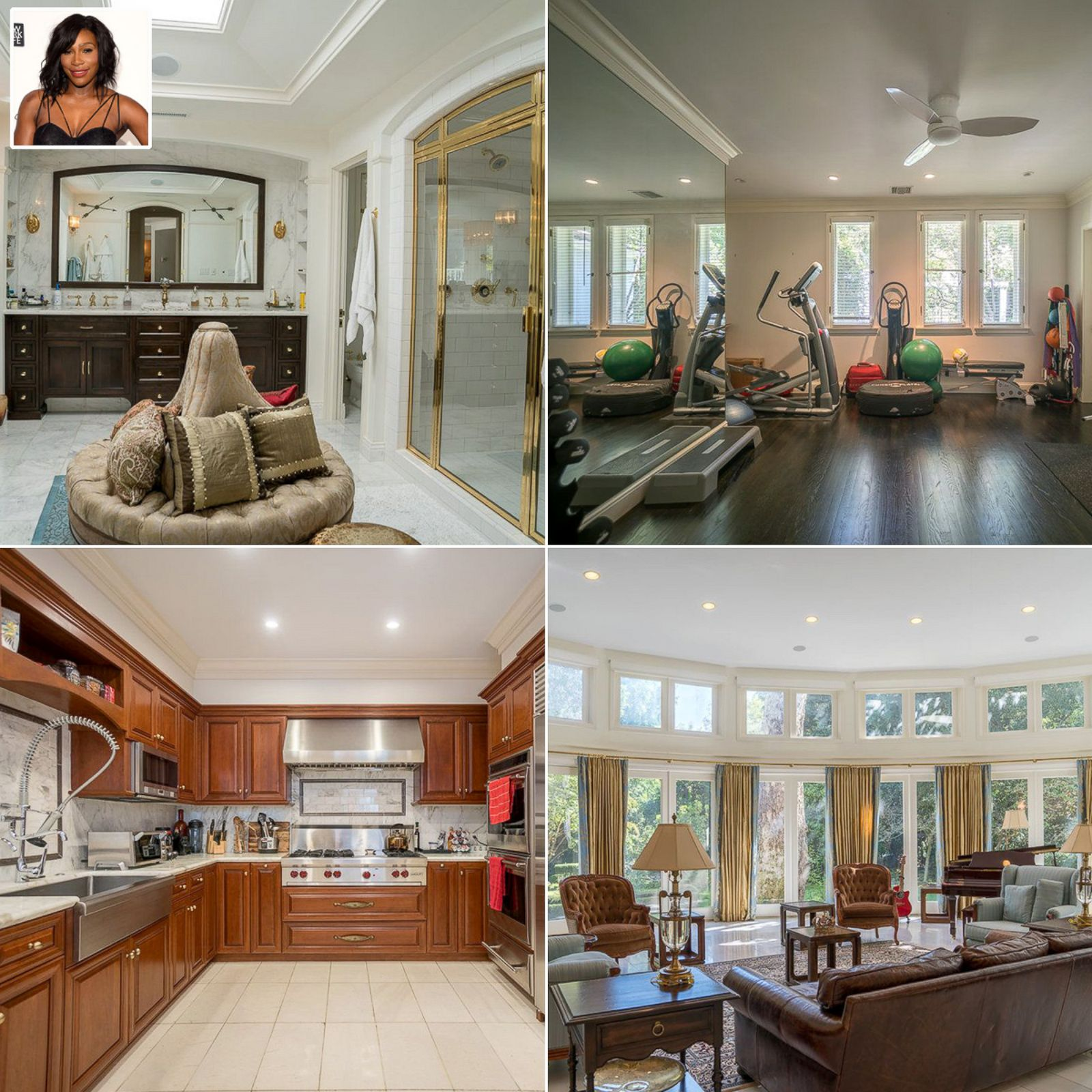 Serena Williams Home