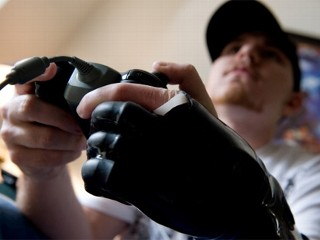 Michael Bailey, 24, is one of the world?s first recipients of cutting edge bionic fingers.