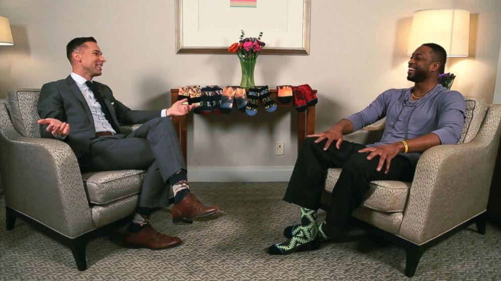 The Next Big Thing In Men S Fashion Socks Video Abc News