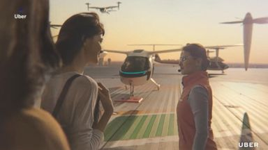 Uber unveils plans for 'flying cars' with UberAir
