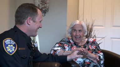 Santa Rosa police officer reunites with 87-year-old he saved in fire: Part 3