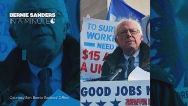 Bernie Sanders: In a minute