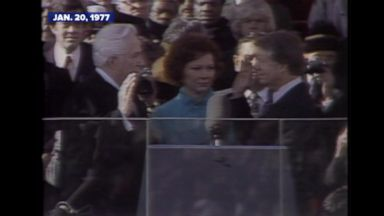 Jan. 20, 1977: The inauguration of Jimmy Carter