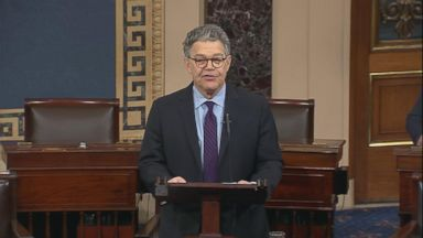 Sen. Al Franken to resign from Senate amid sexual harassment allegations