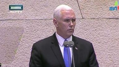 Pence says US embassy in Jerusalem 'will open before the end of next year'