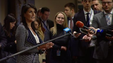 Nikki Haley 'unbelievably proud' of Trump's Syria decision process