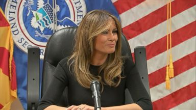 First lady Melania Trump making second visit to border detention facility
