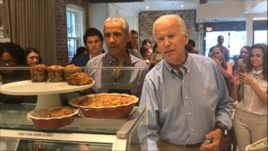 Obama and Biden make surprise DC lunch visit