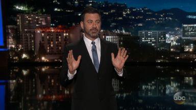 Kimmel congratulates Trump on doing a 'good job of convicting himself'