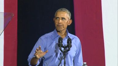 Obama hits back at Republicans on the campaign trail in Ohio