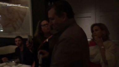 Protesters disrupt Sen. Cruz's dinner in DC
