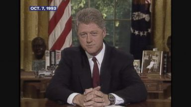 Oct. 7, 1993: President Clinton speaks about US policy in Somalia