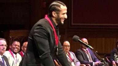 Kaepernick honored with W.E.B. Du Bois Medal at Harvard
