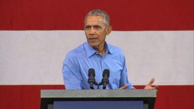 Obama takes direct aim at Trump's 'lying'