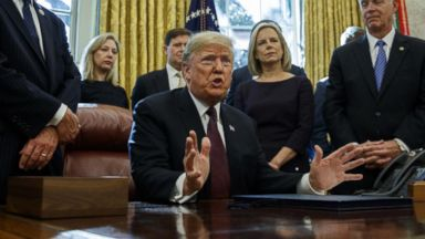Trump says he has written answers to questions from special counsel