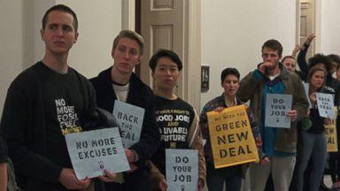Activists renew demand for 'Green New Deal'