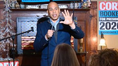 Cory Booker discusses run for 2020 presidency in Iowa