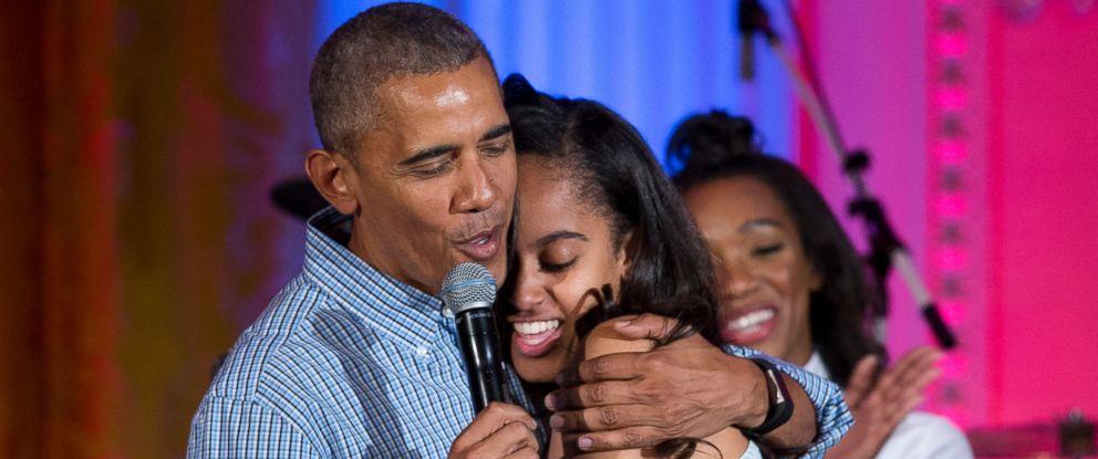 Obama Sings 'Happy Birthday' to Malia During Last Fourth ...