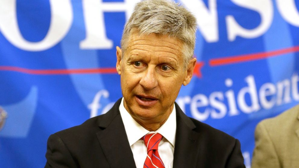 Gary Johnson Wins Libertarian Nomination for President ...