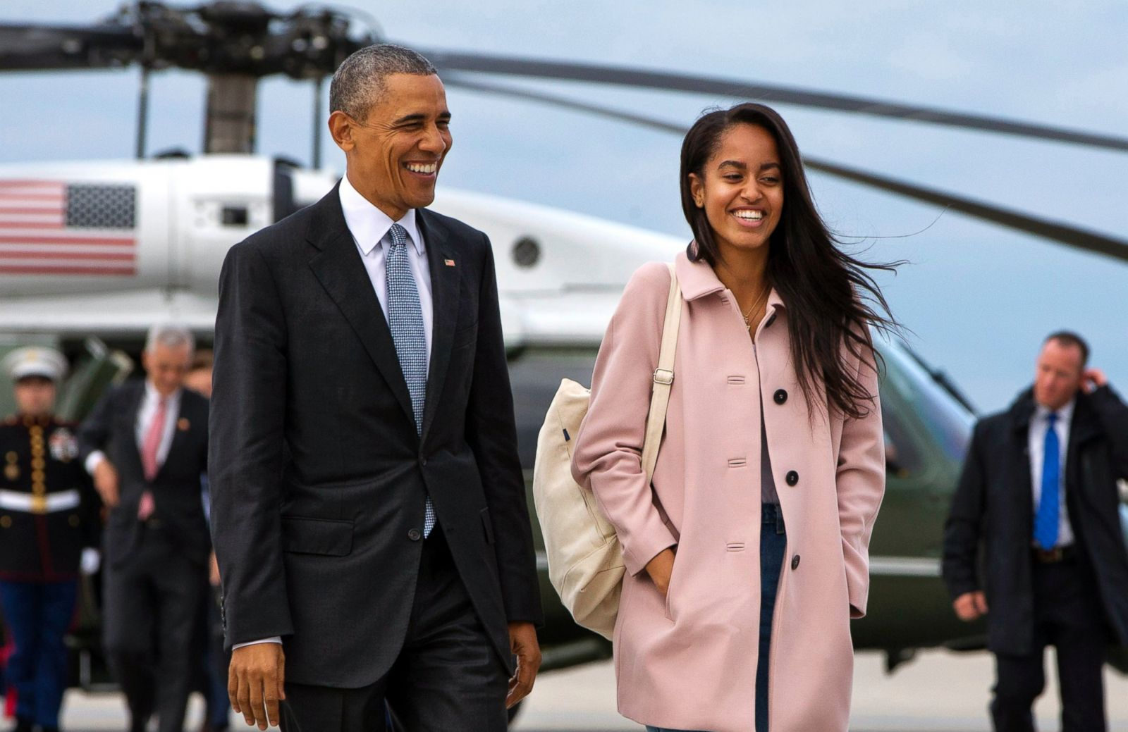 Obama daughters barack