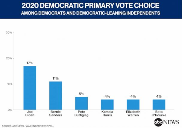2020 Democratic Primary Vote Choice