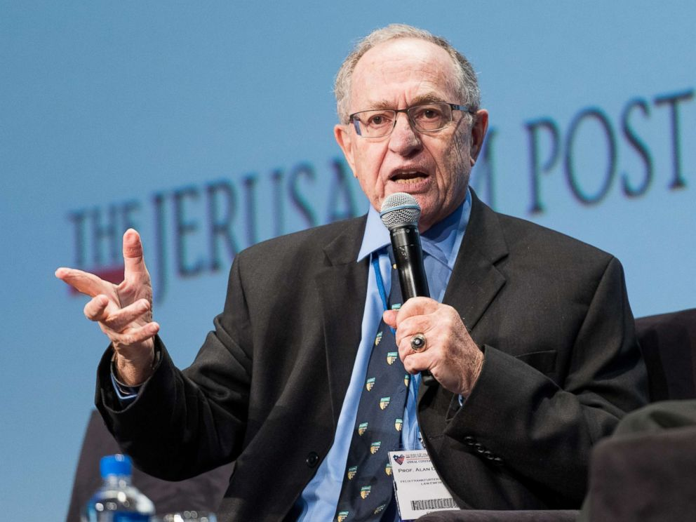 PHOTO: Alan Dershowitz, speaks at the Jerusalem Post Annual Conference in New York May 7, 2017.