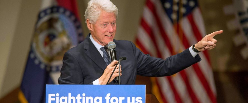 The controversial issues surrounding president bill clinton