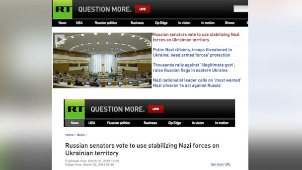Russian News Website Hacked After Military Action In Ukraine