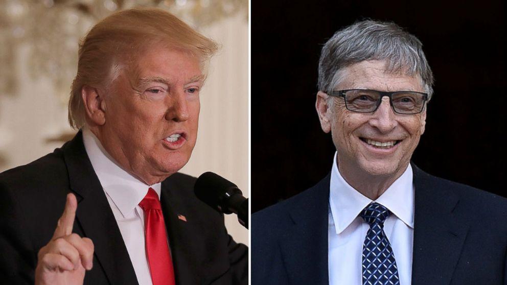 Trump Bill Gates