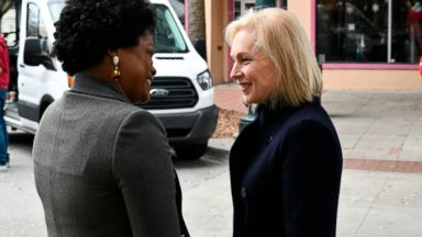2020 hopeful Gillibrand immerses herself in early voting SC