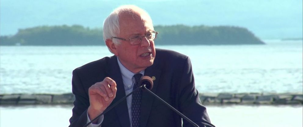 The Speech of Bernie Sanders During His Presidential Marketing campaign Announcement