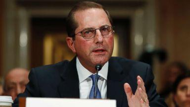 Lawmakers question Health secretary nominee on drug industry ties