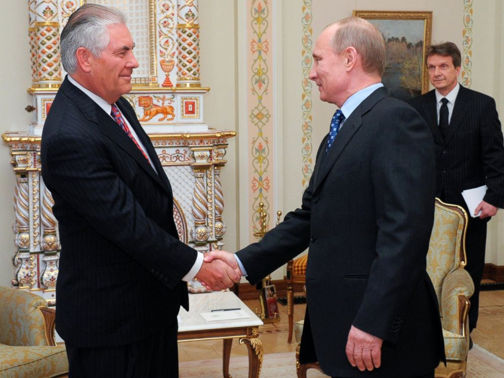 Image result for tillerson meets with putin