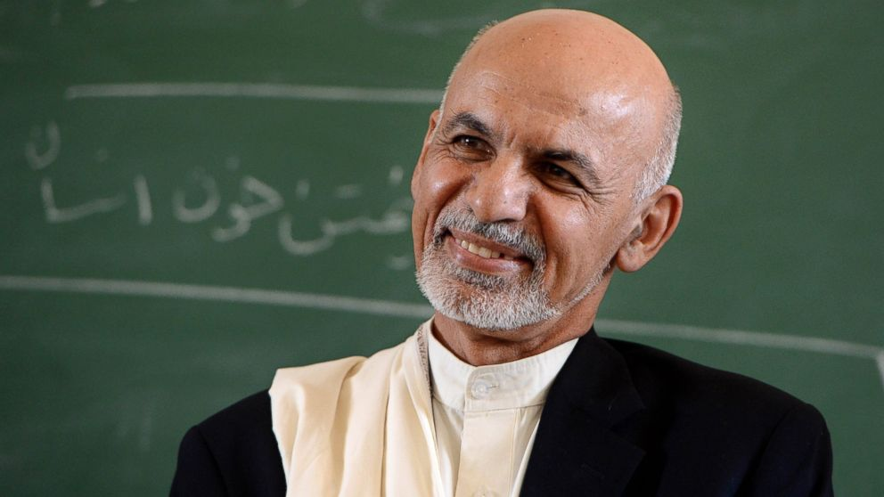 New Afghan President Tore Page Straight From Obama Like