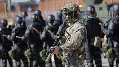 Pentagon extends southern border mission through September