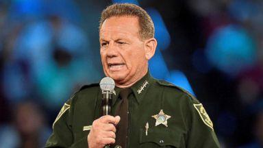 Embattled Florida sheriff suspended over handling of Marjory Stoneman Douglas High School shooting